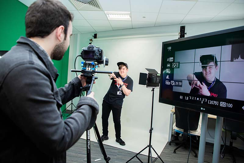 BA (Hons) Film and Media Production with a Foundation Year