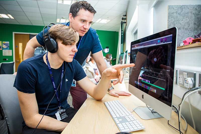 BA (Hons) Digital Content Creation with a Foundation Year